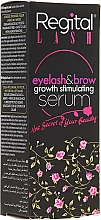 Düfte, Parfümerie und Kosmetik Augenbrauen- und Wimpernserum - Regital Lash Eyelash & Brow Growth Stimulating Serum