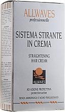 Düfte, Parfümerie und Kosmetik Zweistufige ammoniakfreie Behandlung zur Haarglättung - Allwaves