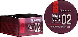Düfte, Parfümerie und Kosmetik Mattierende Tonerde für das Haar Mittlerer Halt - Salerm Pro Line Matt Clay
