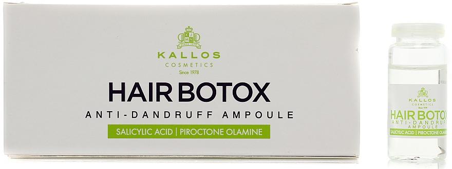 Haarampullen gegen Schuppen - Kallos Cosmetics
