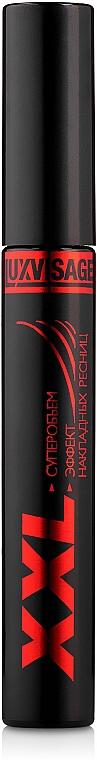 Mascara für Volumen und Falsche-Wimpern-Effekt - Luxvisage XXL Mascara