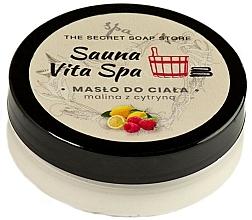 Düfte, Parfümerie und Kosmetik Körperbutter mit Himbeere und Zitrone - The Secret Soap Store Sauna Vita Spa