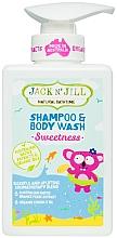 Düfte, Parfümerie und Kosmetik 2in1 Duschgel und Shampoo für Kinder - Jack N' Jill Sweetness Shampoo & Body Wash