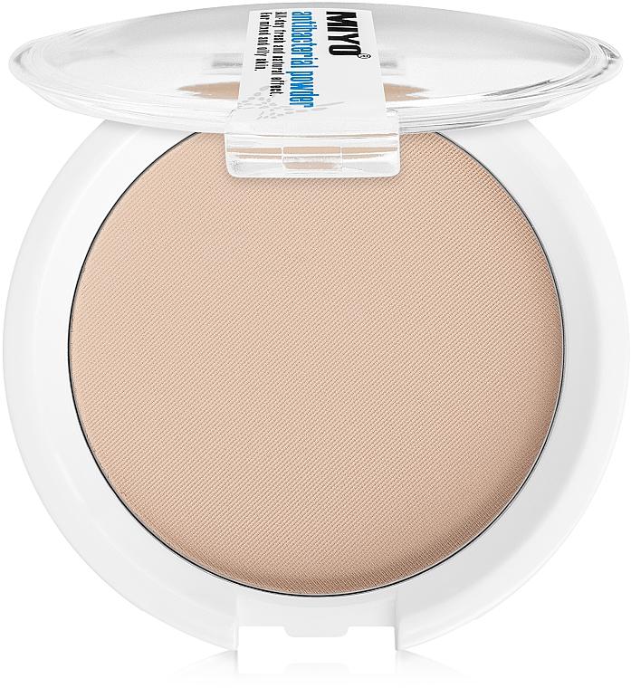 Antibakterielles Kompaktpuder für Gesicht - Miyo Antibacterial Powder