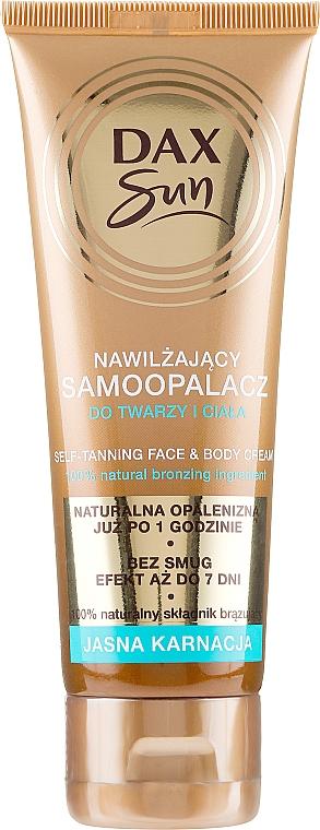 Autobronzante für helle Haut - DAX Sun Extra Bronze Self-Tanning Cream