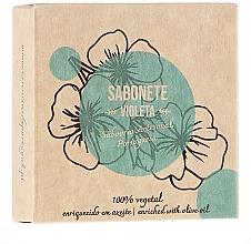 Düfte, Parfümerie und Kosmetik Naturseife Violet - Essencias De Portugal Violet Scrub Soap Senses Collection