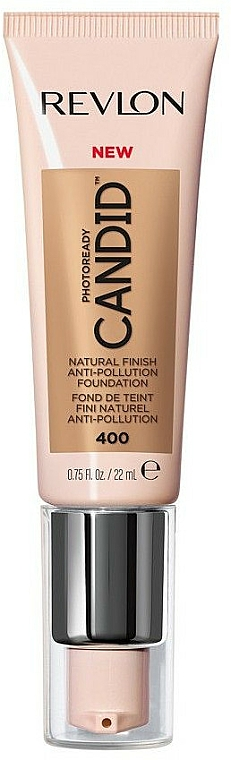 Anti-Pollution Foundation - Revlon Photoready Candid Natural Finish Foundation