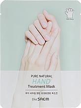 Düfte, Parfümerie und Kosmetik Feuchtigkeitsspendende und pflegende Maske in Handschuh-Form mit Paraffin und Sheabutter - The Saem Pure Natural Hand Treatment Mask