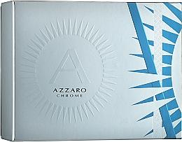 Düfte, Parfümerie und Kosmetik Azzaro Chrome - Duftset (Eau de Toilette 50ml + Deostick 75ml)