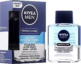 "Düfte, Parfümerie und Kosmetik After Shave ""Protect & Care"" - Nivea For Men After Shave Lotion"