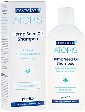 Düfte, Parfümerie und Kosmetik Shampoo mit Bio Hanföl - Novaclear Atopis Hemp Seed Oil Shampoo