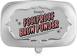 Düfte, Parfümerie und Kosmetik Augenbrauenpuder - Benefit Foolproof Brow Powder