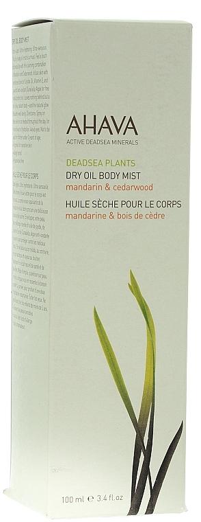 Trockenes Körperöl-Spray mit Mandarine und Zeder - Ahava Dry Oil Body Mist