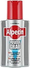 Farbauffrischendes Shampoo für blondes und graues Haar - Alpecin Power Grau Shampoo  — Bild N1