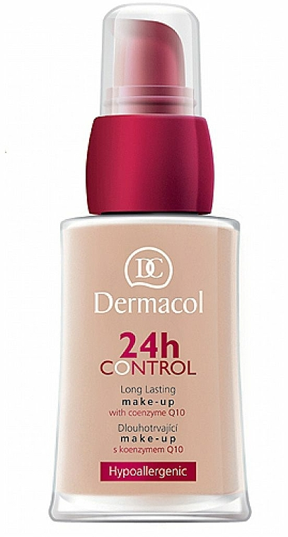 Langanhaltende Foundation mit Coenzym Q10 - Dermacol 24h Control Make-Up