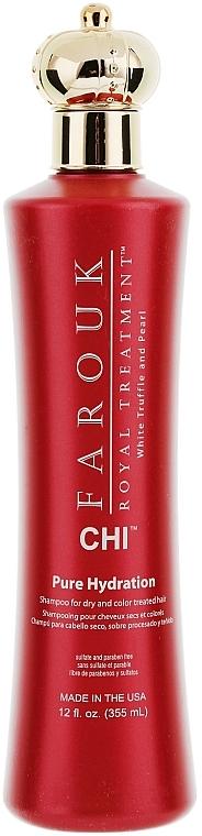 Feuchtigkeitsspendendes Shampoo für trockenes und coloriertes Haar - CHI Farouk Royal Treatment by CHI Hydration Shampoo
