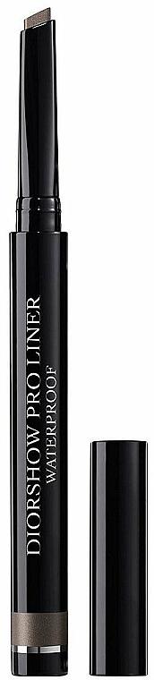 Wasserfester Eyeliner - Dior Diorshow Pro Liner Waterproof Eyeliner — Bild N1