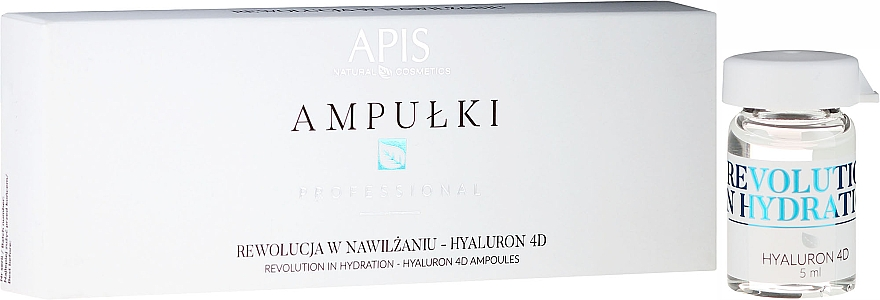 Gesichtsampullen mit Hyaluron 4D - APIS Professional 4D Hyaluron Concentrate Ampule