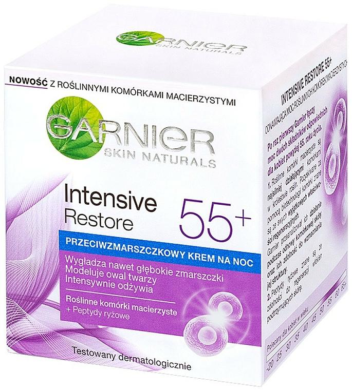 Intensiv verjüngende Nachtcreme 55+ - Garnier Skin Naturals 55+ — Bild N1