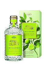 Düfte, Parfümerie und Kosmetik Maurer & Wirtz 4711 Aqua Colognia Lime & Nutmeg - Eau de Cologne
