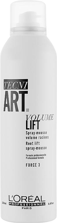 Sprühschaum für Volumen und Spannkraft Stärke 3 - L'Oreal Professionnel Tecni.art Volume Lift