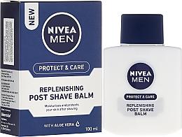 Düfte, Parfümerie und Kosmetik Regenerierender After Shave Balsam für Männer - Nivea For Men Replenishing After Shaving Balm