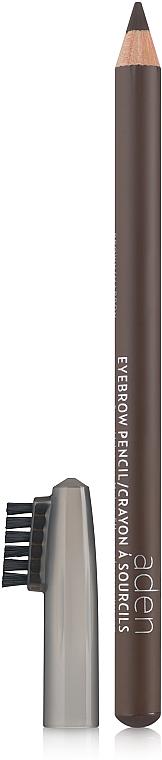 Augenbrauenstift mit Bürste - Aden Cosmetics Eyebrow Pencil