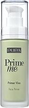 Düfte, Parfümerie und Kosmetik Gesichtsprimer zur Neutralisierung der Hautröte - Pupa Prime Me Corrective Anti-Redness Face Primer