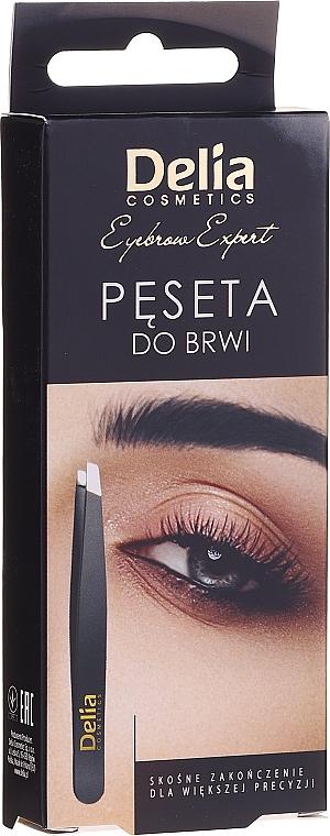 Pinzette schräg - Delia Cosmetics Eyebrow Expert