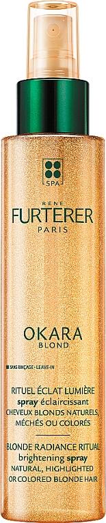 Leuchtkraft-Spray für naturblondes und aufgehelltes Haar - Rene Furterer Okara Blond Radiance Ritual Brightening Spray