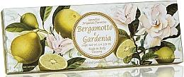 Düfte, Parfümerie und Kosmetik Naturseifenset Bergamotte und Gardenie - Saponificio Artigianale Fiorentino Bergamot & Gardenia (Seife 3St. x100g)