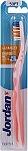 Düfte, Parfümerie und Kosmetik Zahnbürste weich Advanced ohne Schutzkappe hell-rosa - Jordan Advanced Soft Toothbrush