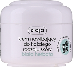 Düfte, Parfümerie und Kosmetik Feuchtigkeitsspendende Gesichtscreme mit weißem Tee - Ziaja Cream White Tea