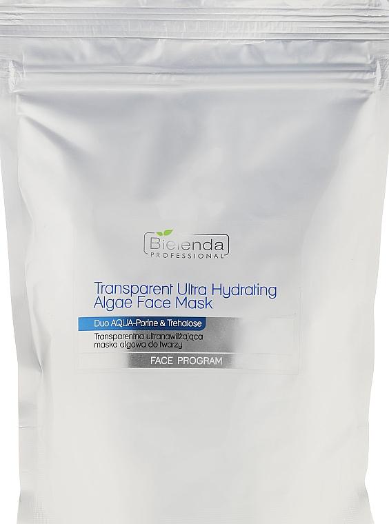 Intesiv feuchtigkeitsspendende Algen-Gesichtsmaske - Bielenda Professional Face Program Transparent Ultra Hydrating Algae Face Mask