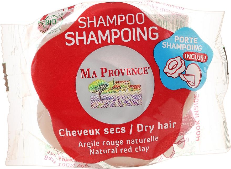Bio Shampoo für trockenes Haar mit roter Tonerde - Ma Provence Shampoo