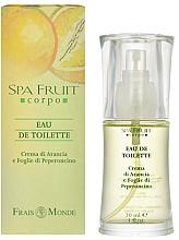 Düfte, Parfümerie und Kosmetik Frais Monde Spa Fruit Orange And Chilli Leaves - Eau de Toilette