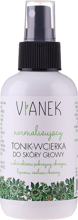 Normalisierendes Tonikum für die Kopfhaut - Vianek Normalizing Hair Tonic