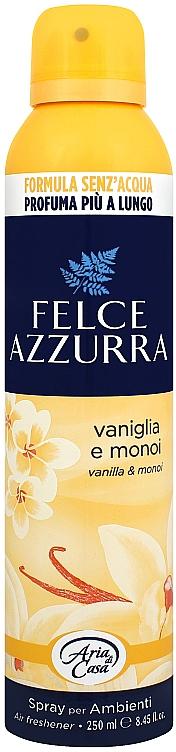 Duftendes Raumerfrischer-Spray Vanille und Monoi - Felce Azzurra Vaniglia e Monoi Spray