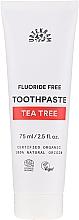 Düfte, Parfümerie und Kosmetik Organische Zahnpasta mit besonders hoher Desinfektionswirkung und Teebaum - Urtekram Toothpaste Tea Tree