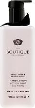 Düfte, Parfümerie und Kosmetik Handlotion mit samtiger Rose und Sandelholz - Grace Cole Velvet Rose & Sandalwood Hand Lotion