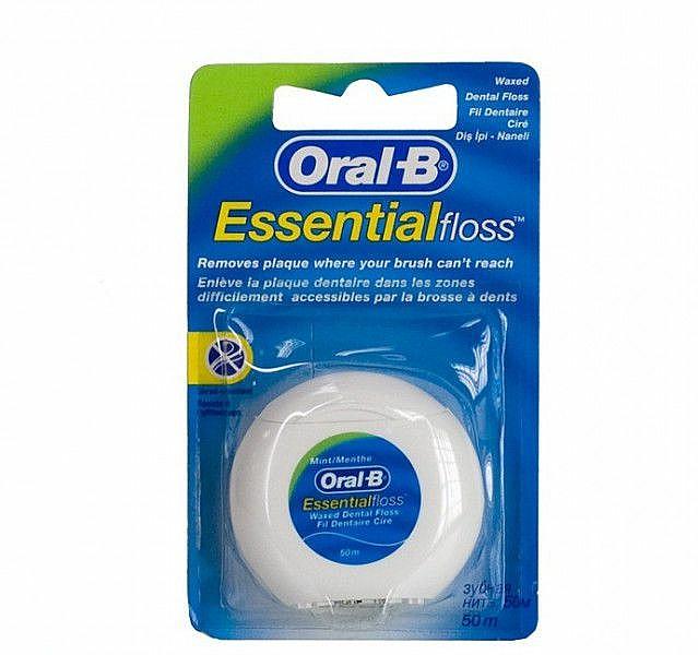 Zahnseide ungewachst 50 m - Oral-B Essential Floss