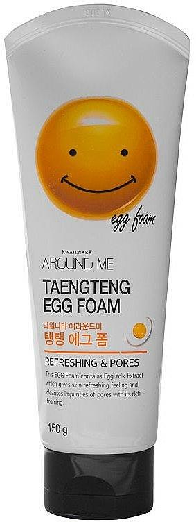Gesichtsreinigungsschaum mit Eigelb - Welcos Around Me Egg Foam