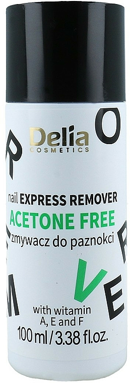 Nagellackentferner - Delia Acetone Free Nail Polish Remover for Natural and Artificial Nails
