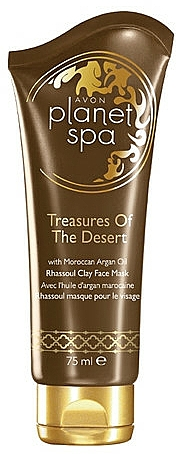 Regenerierende Gesichtsmaske mit Ton und marokkanischem Arganöl - Avon Planet Spa Face Mask