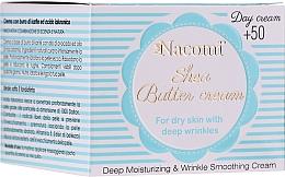 Düfte, Parfümerie und Kosmetik Anti-Falten Tagescreme mit Sheabutter und Hyaluronsäure 50+ - Nacomi Shea Cream 50+