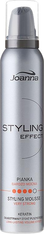 Lockendefinierende Haarmousse mit extra starkem Halt - Joanna Styling Effect Styling Mousse Strong