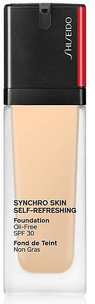 Revitalisierende und erfrischende Foundation SPF 30 - Shiseido Synchro Skin Self-Refreshing Foundation SPF 30