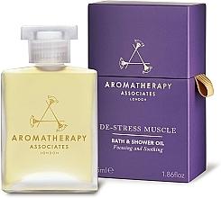 Düfte, Parfümerie und Kosmetik Wärmendes und beruhigendes Anti-Stress Bade- und Duschöl - Aromatherapy Associates De-Stress Muscle Bath & Shower Oil