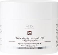 Düfte, Parfümerie und Kosmetik Gesichtsmaske mit weißem Ton und Zink - APIS Professional Tightening And Smoothing Mask