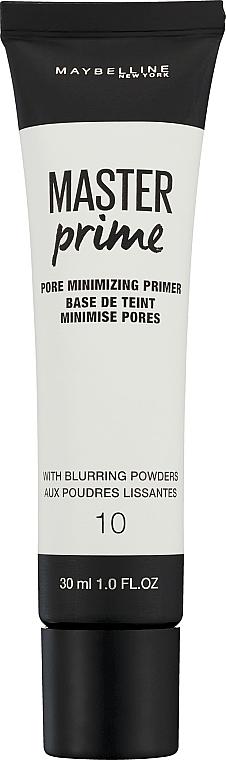 Porenminimierender Primer - Maybelline Master Prime 10 Pore Minimizing